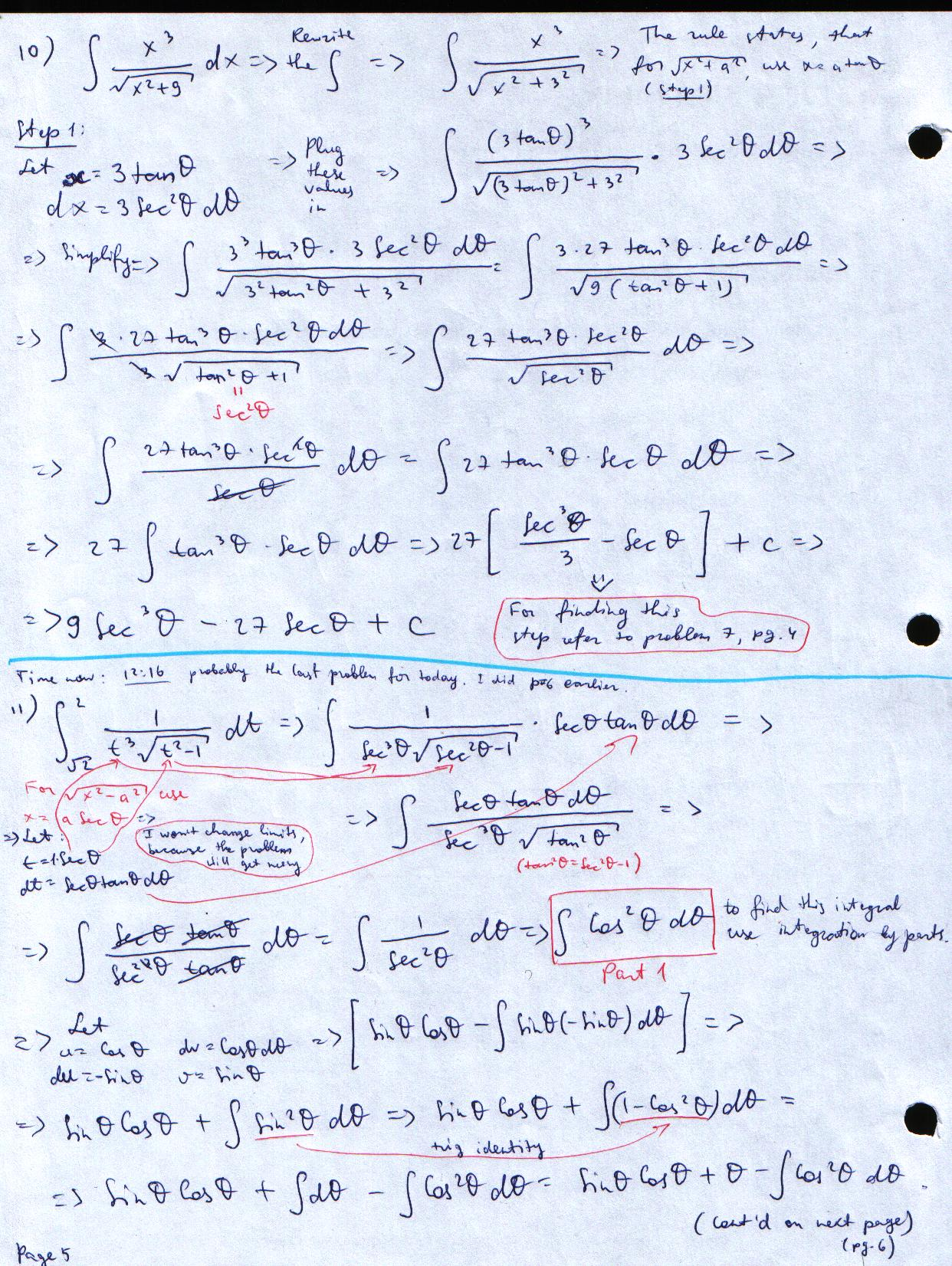 Calculus review sheet problems' solutions!12/17/09 | My Calculus ...