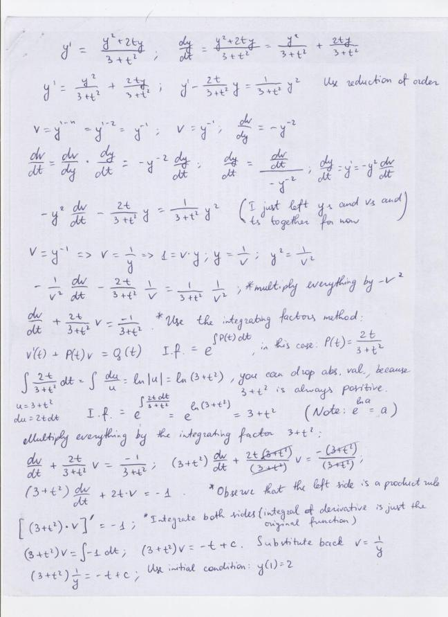 Solution, page 1